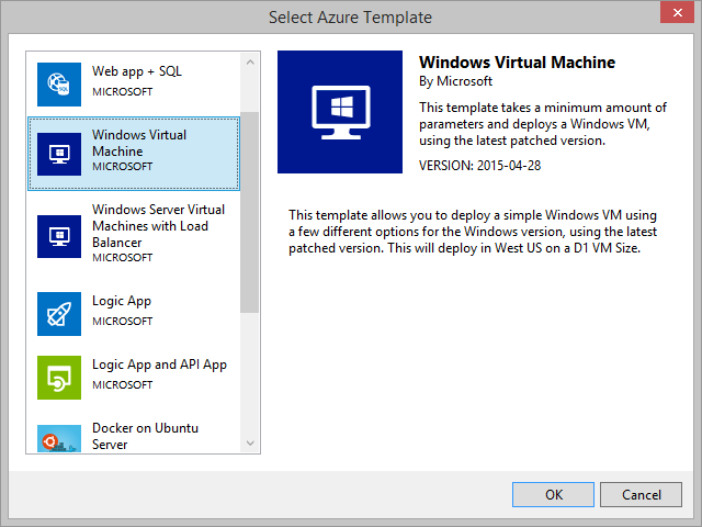 ARM Windows virtual machine template